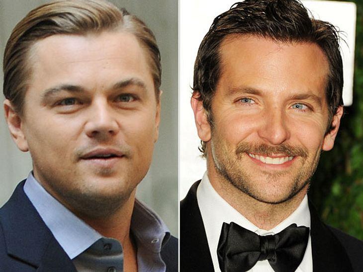 """,Diese Stars sind gleich altDie smarten Jungs kommen langsam ins Alter, aber so richtig männlich will Leonardo DiCaprio (39) nicht werden. Im Gegensatz zu Kollege Bradley Cooper (39) bleibt er immer der Junge aus """"Titanic""""."""
