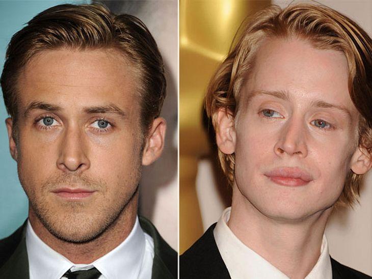 ,Diese Stars sind gleich altWas für ein Unterschied! Beide startetet als süße Kinderstars, beide sind gleich alt. Doch Macaulay Culkin (33) sieht immer noch aus wie der kleine Kevin in verlebt und Ryan Gosling (33) ist der Traum einer jeden