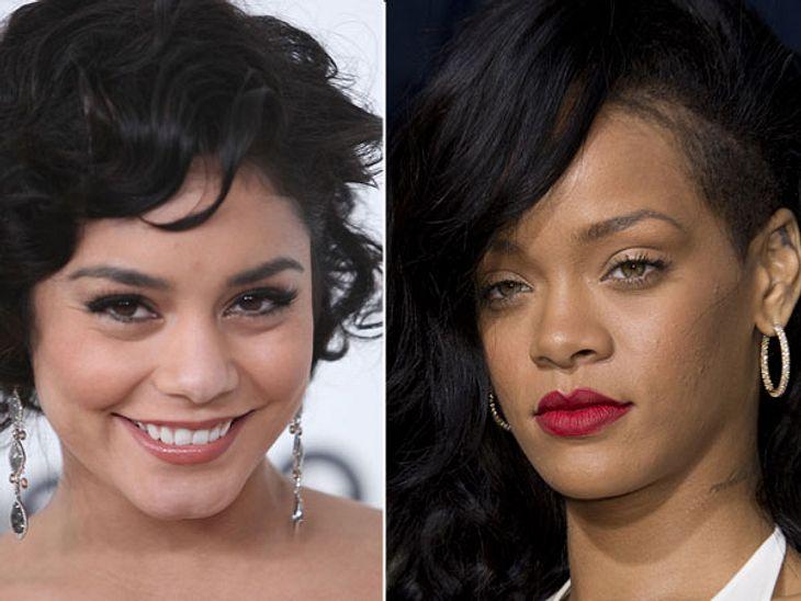 ,Diese Stars sind gleich altDas Schlimmste, was Vanessa Hudgens (26) je in der Öffentlichkeit gemacht hat, war mit ihrem Freund zu knutschen. Rihanna (26) säuft, kokst und macht sich nackig. Das geht nicht spurlos an ihr vorbei.