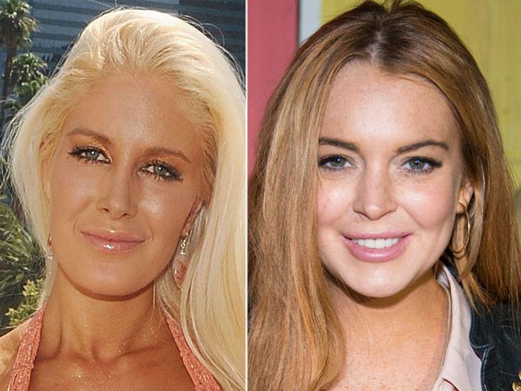 """,Diese Stars sind gleich altHeidi Montag (28) hat sich mit zehn Schönheits-Operationen """"aufhübschen"""" lassen. Lindsay Lohan (28) lässt sich regelmäßig die Lippen aufspritzen. Eigentlich müsste man bei beiden sagen: """"Was? Die s"""
