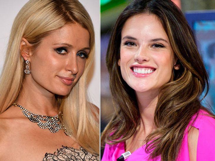 ,Diese Stars sind gleich altPartygirl vs. Model-Mama: Paris Hilton (33) wirkt komischerweise jünger als Alessandra Ambrosio (33). Zwei Kinder können doch ähnlich viel Substanz kosten, wie Dauer-Partys.