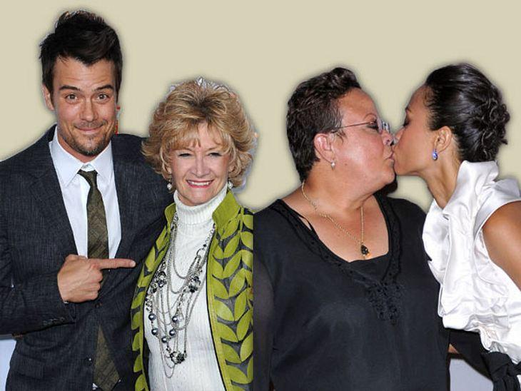 Stars & ihre MütterMeine Mama ist die Beste! Ob zu Premieren, beim Shoppen oder in den schwersten Stunden - die Mütter der Stars sind immer am Start. Der ein oder andere Promi nimmt seine Mutti auch schon mal lieber mit auf den roten Te