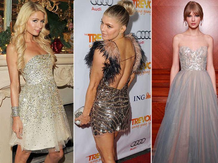 Die heißen Partykleider der StarsIn Los Angeles, New York und London ist eigentlich immer Partysaison: Die passenden Kleider hängen bei jeder Promi-Lady zu Dutzenden im Schrank. Eins ist schöner als das andere.Wir haben eine Auswahl der woh