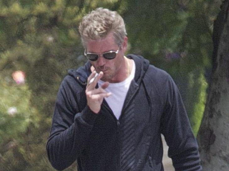 Stars, die rauchenRauchen ist nur das kleinste Problem von McSexy Eric Dane. Der ist nämlich ständig in Behandlung wegen seiner Drogensucht.