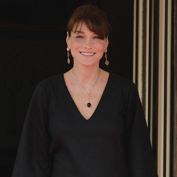 """Schwanger über 40: Diese Stars freuen sich über ihr spätes MutterglückDie französische First-Lady Carla Bruni-Sarkozy (44) bekam im Oktober 2011 im Alter von 43 Jahren Tochter Giulia. Als """"grande surprise"""" empfand das Ex-Model das"""