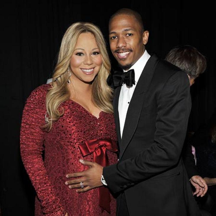 """Schwanger über 40: Diese Stars freuen sich über ihr spätes MutterglückMariah Carey (41) und Mann Nick Cannon (31) freuten sich unheimlich über die Geburt ihrer Zwillinge Monroe und Moroccan im April 2011. """"Ein Kind zu bekommen, ist das"""