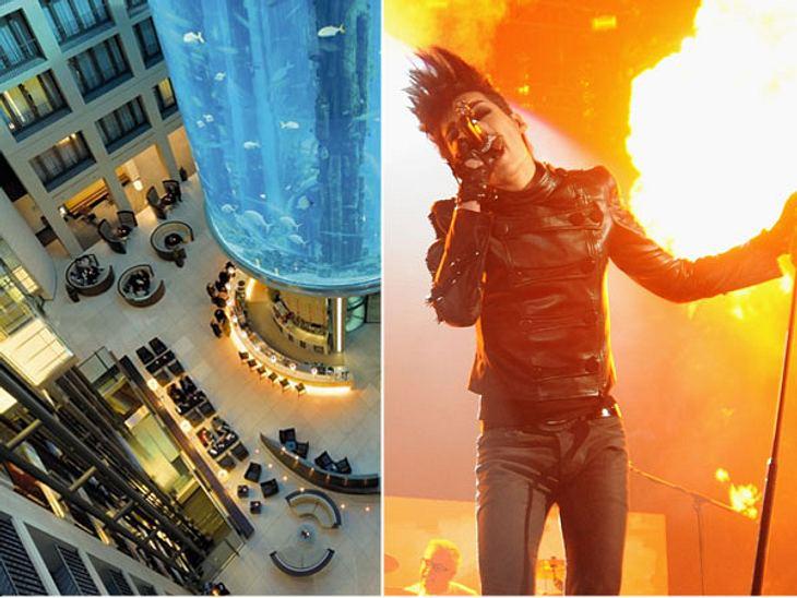"""Die Randale & Skandale der Stars""""Radisson Blu"""" in Berlin  Hotelverbot für Tokio HotelDie Teenie-Stars von Tokio Hotel bekleckerten sich in der Vergangenheit nicht gerade mit Ruhm. Sie feierten im November 2005 mit Groupies ein"""