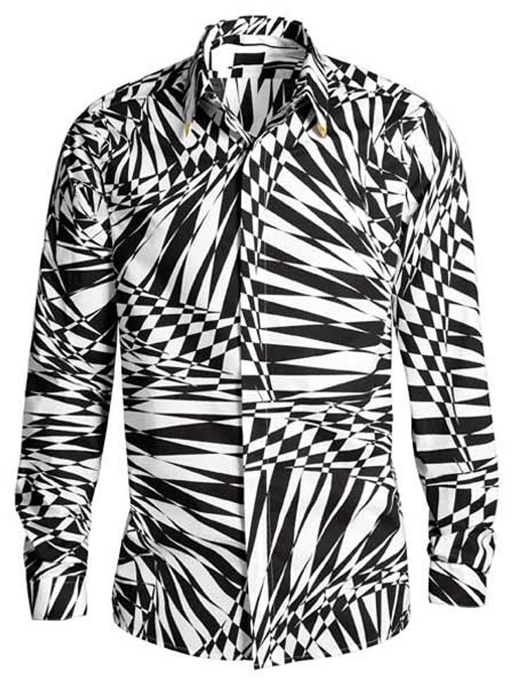 """Stars tragen """"Versace for H&M"""": Alan Cumming,Hemd, um 40 Euro.Hier geht es zur gesamten Kollektion """"Versace für H&M"""""""