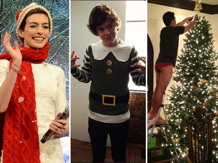 Ho Ho Ho - Stars im WeihnachtsfieberWeihnachtsmarkt, X-Mas-Fashion, Glühwein, ein üppig geschmückter Weihnachtsbaum - es gibt viele Wege die Weihnachtsleidenschaft auszuleben. Das Weihnachtsfieber hat auch viele Stars gepackt. Ob Anne Hatha