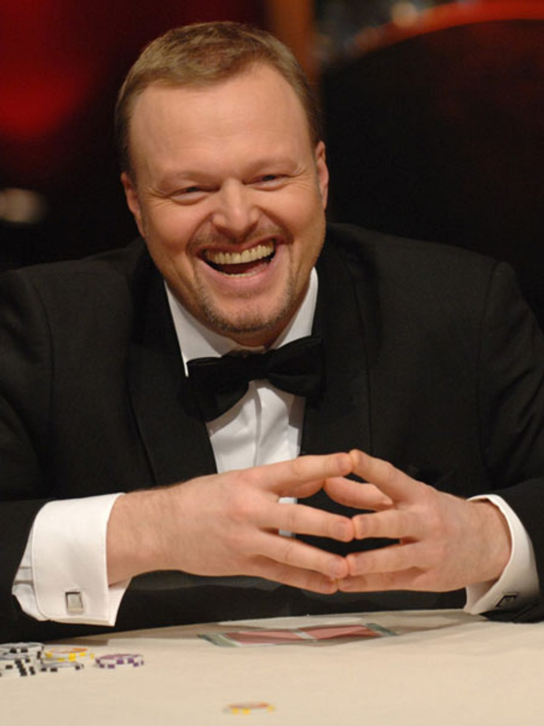 "Stefan Raab bei ""Pokerstars""-Nacht"