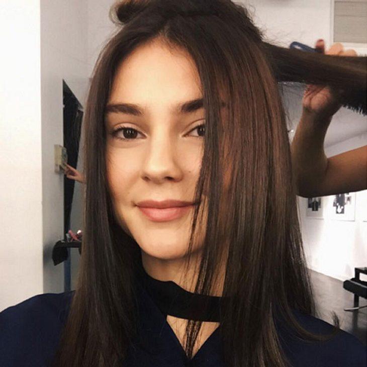 Stefanie Giesinger hat wieder braune Haare