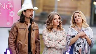 Stefanie Hertel mit Ehemann Lanny und Tochter Johanna - Foto: IMAGO/ STAR-MEDIA