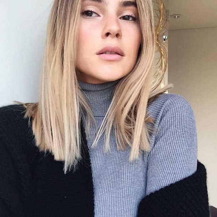 Gntm Gewinnerin Stefanie Giesinger Hat Eine Neue Frisur