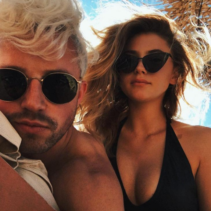 Stefanie Giesinger und Marcus Butler verbringen ihren ersten gemeinsamen Urlaub