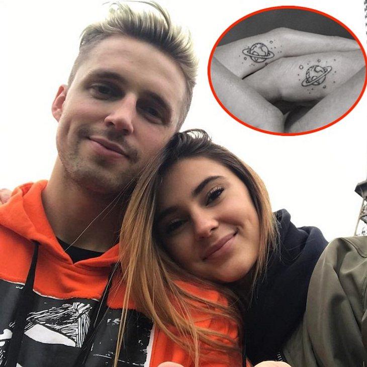 Stefanie Giesinger & Marcus Butler: Pärchen-Tattoo