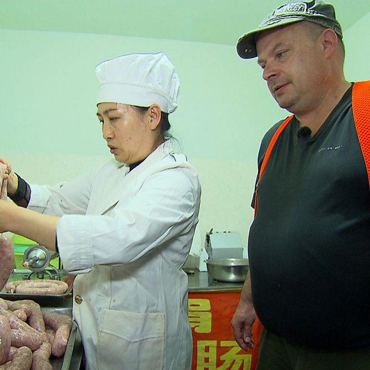Steffen Roeder und Hong Yao in China