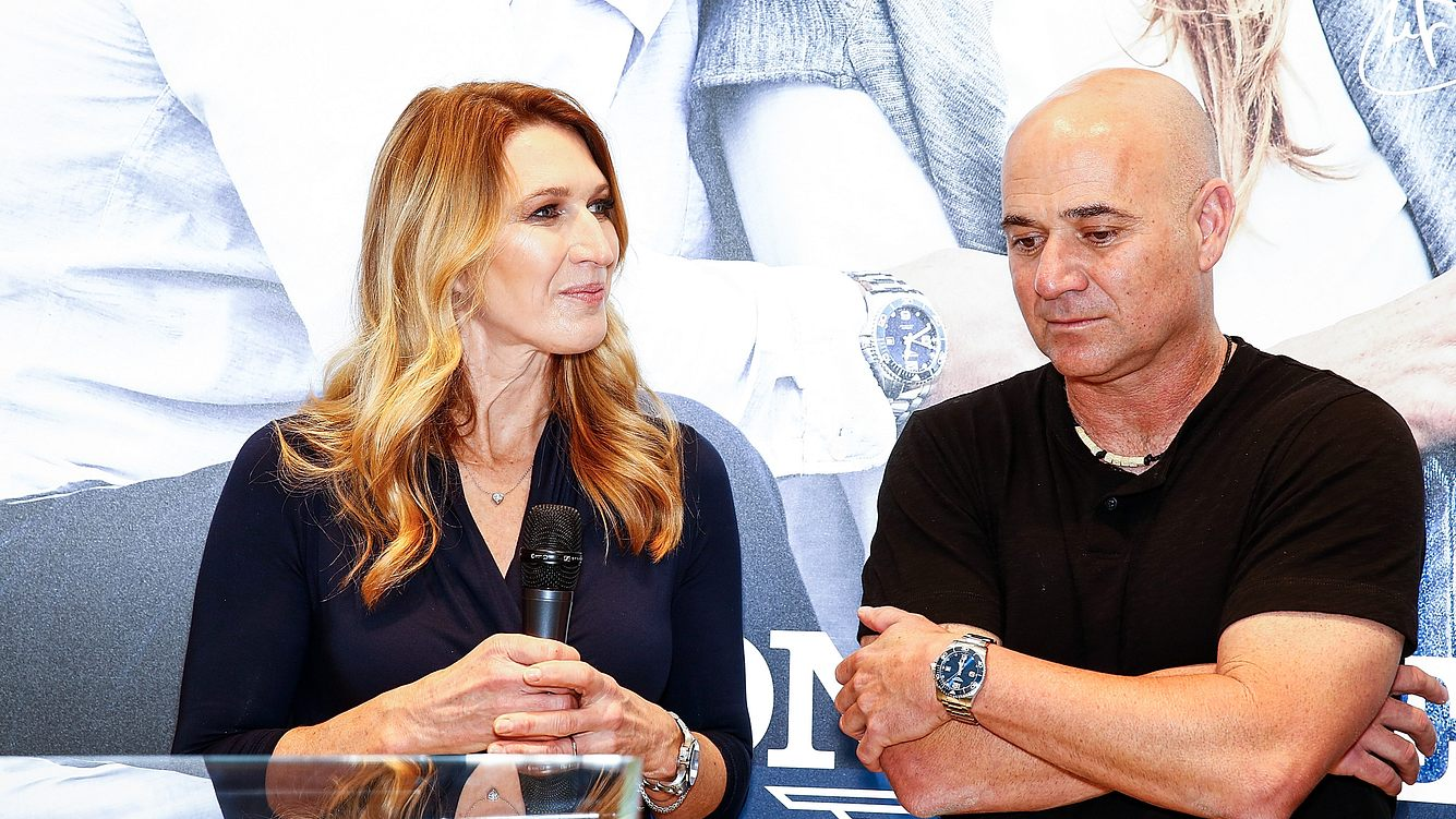 Steffi Graf Andre Agassi