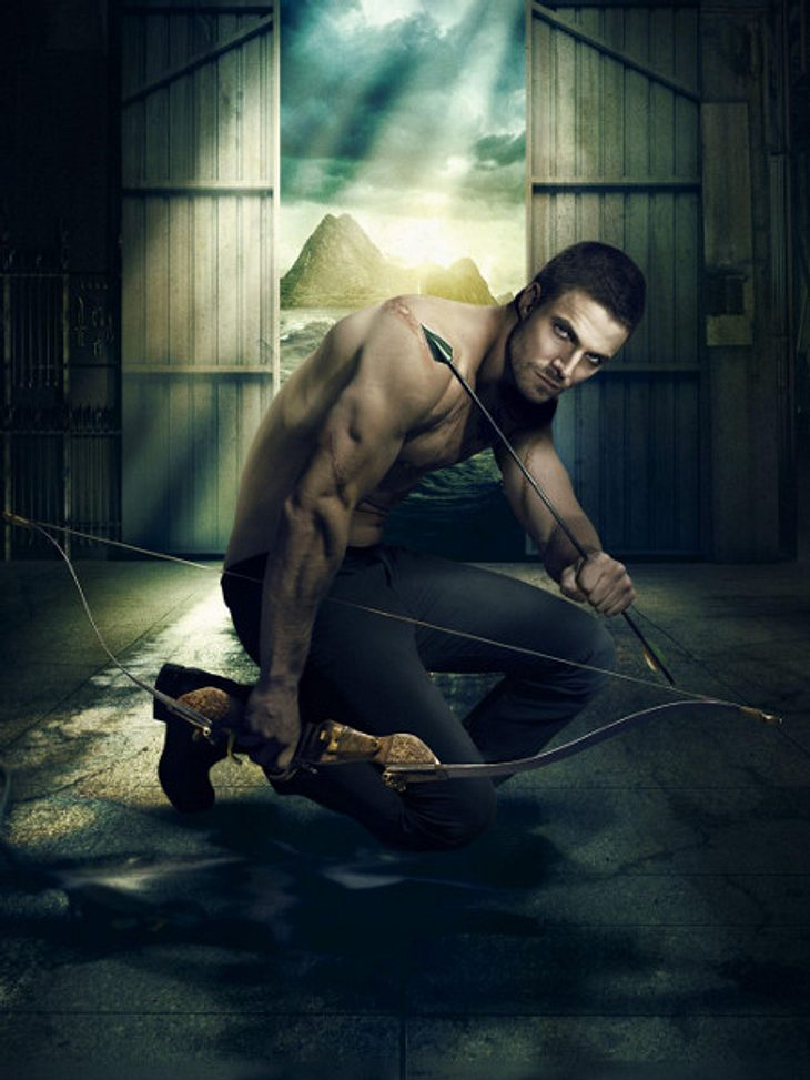 Stephen Amell als Arrow / Oliver Queen