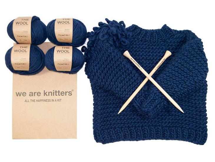 5 x Sweater Kits von We ware Knitters im Wert von jeweils 110 Euro zu gewinnen.