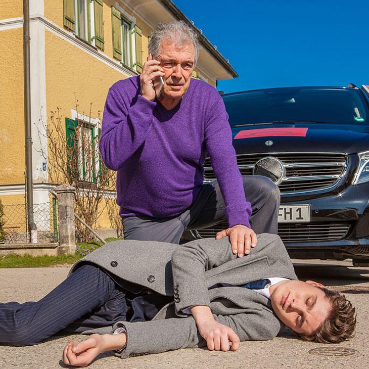 Sturm der Liebe: Fabien wird von André angefahren!