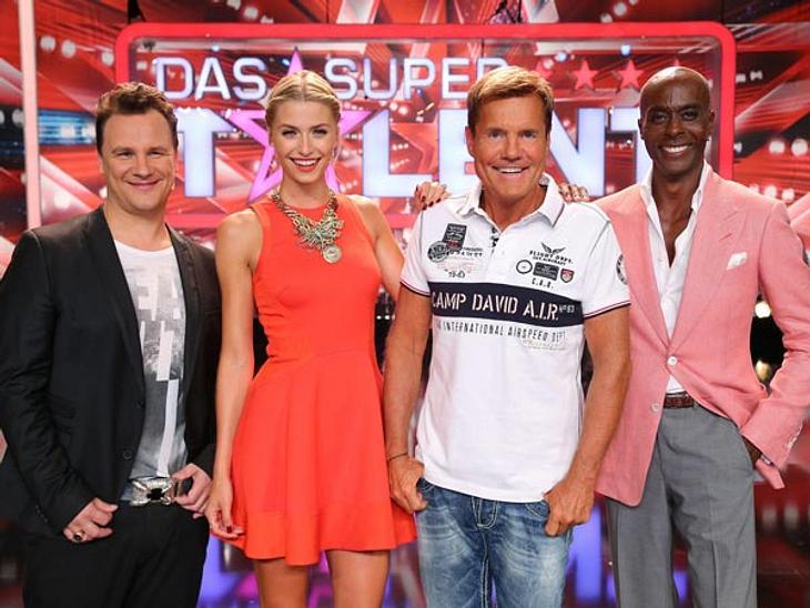 """Keine Veränderung in der Jury beim """"Supertalent 2014"""""""