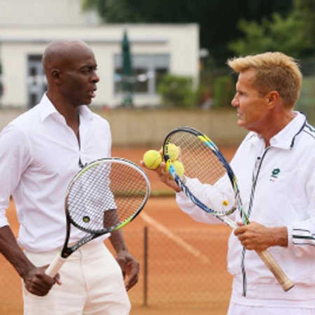 Supertalent 2014: Bruce Darnell spielt Tennis in Prada-Outfit