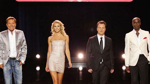 Supertalent 2013: Die Jury hat sich ganz doll lieb - Foto: RTL