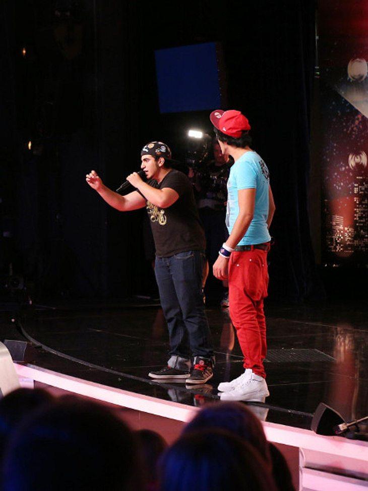 Supertalent 2013: Dieser Rapper teilen aus