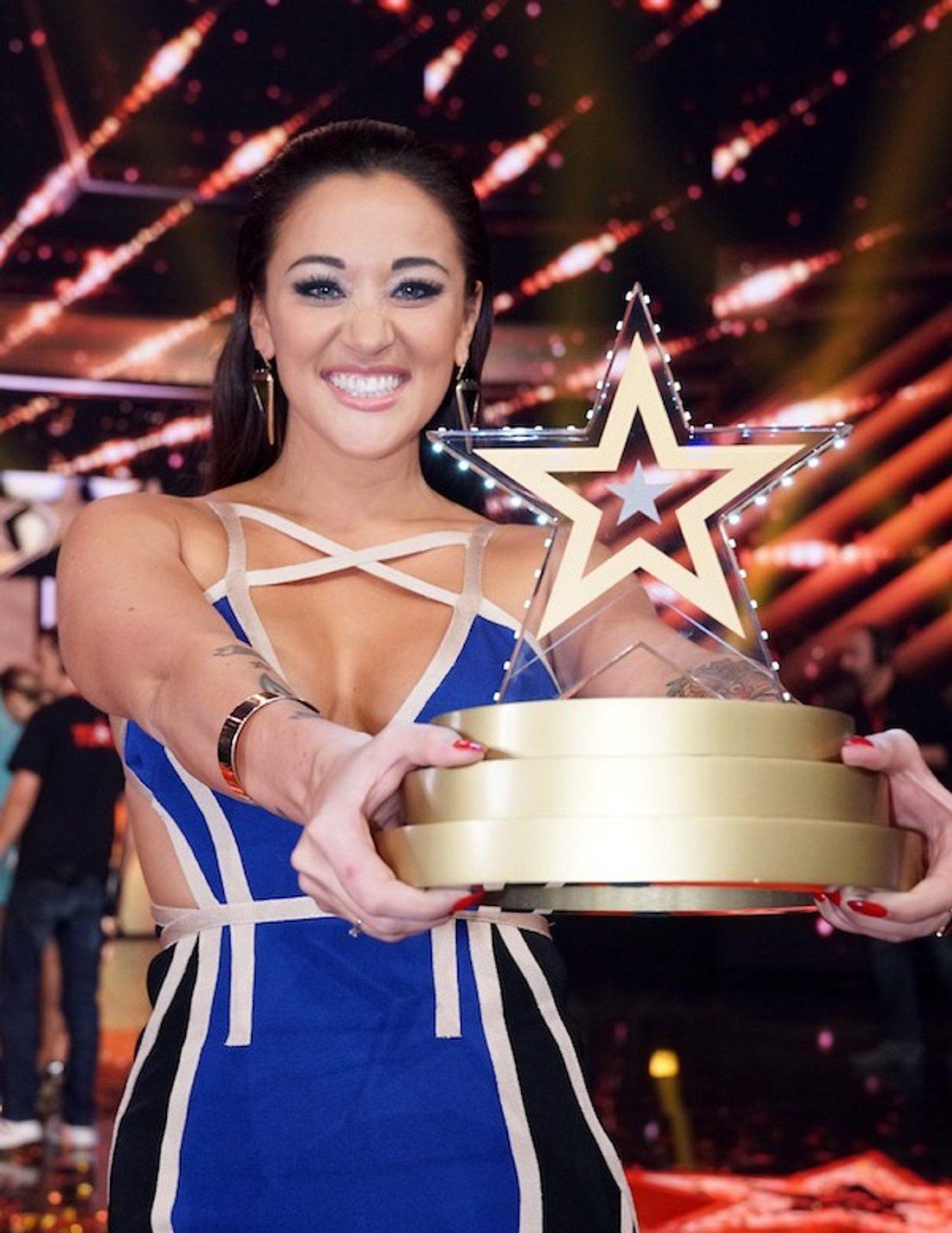 Nach DSDS-Aus: Sängerin Angel ist das Supertalent 2016