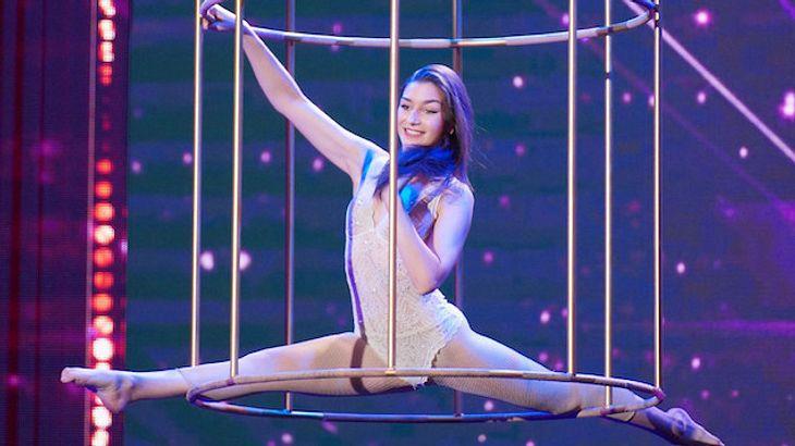 """""""Supertalent""""-Akrobatin Rachel: Ihre Mutter war im Dschungelcamp!"""