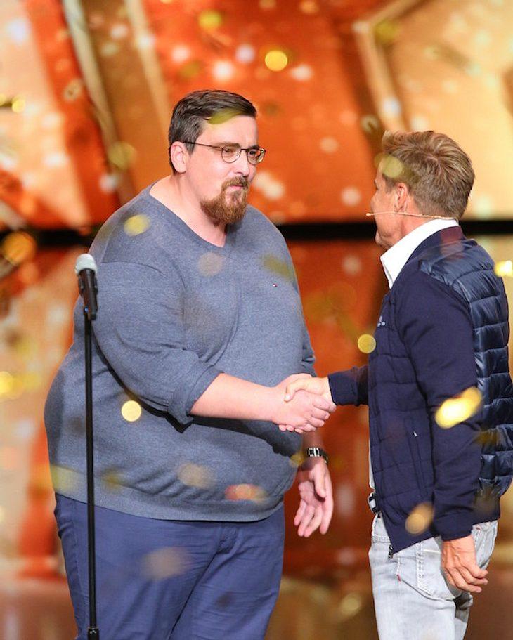 Das Supertalent: Goldener Buzzer für Thomas in der Auftaktshow!