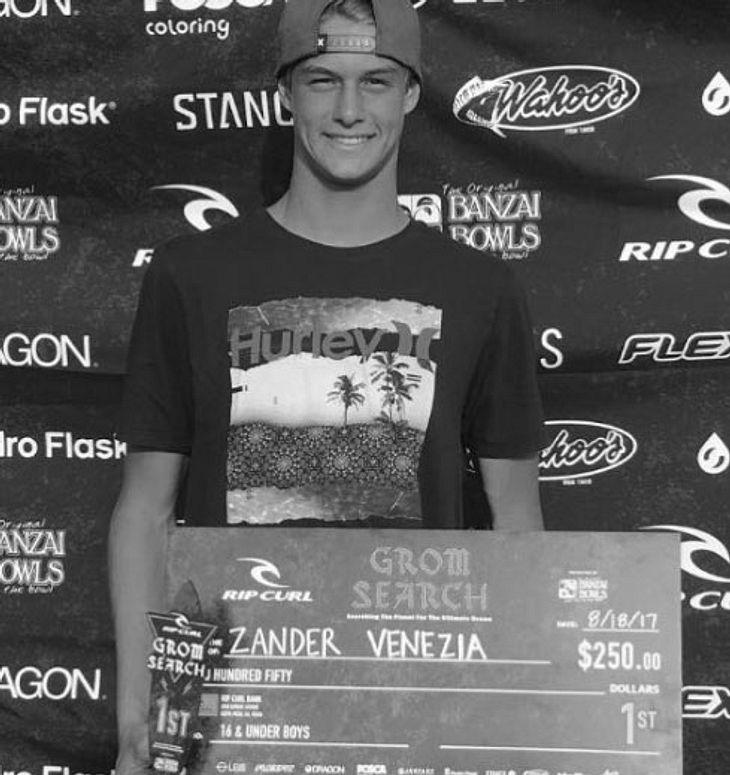 Todes-Drama durch Hurrikan: 16-jähriger Sport-Star stirbt beim Surfen!