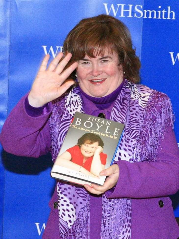 """""""Ich schreib dann mal ein Buch!"""" - Stars und ihre BestsellerDie """"Britain's Got Talent""""-Teilnehmerin  Susan Boyle hat in ihrem Leben schon viel erlebt, vor allem seit der Show. Das hat sie alles aufgeschrieben in: """"T"""