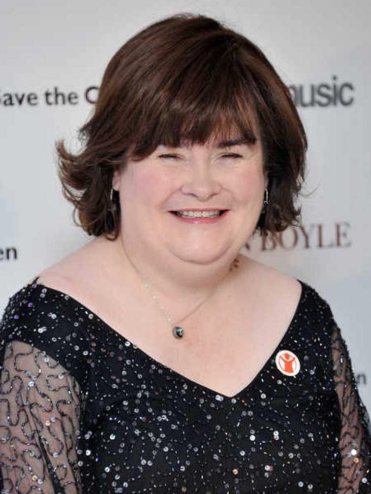 Susan Boyle hat ihren allerersten Freund