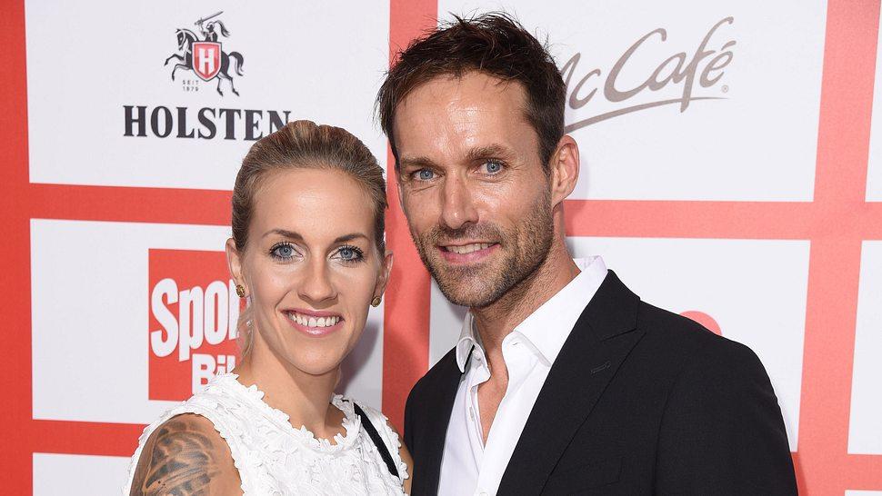 Sven Hannawald und seine Frau Melissa - Foto: Getty Images