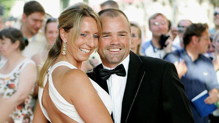 Sven Ottke besucht mit Freundin Monic 2008 eine Preisverleihung