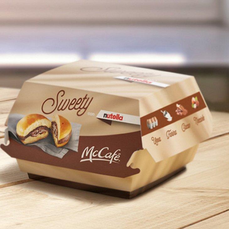"""Jetzt kommt der """"Nutella""""-Burger"""