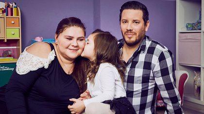 Sylvana Wollny, Celina und Florian - Foto: RTL 2