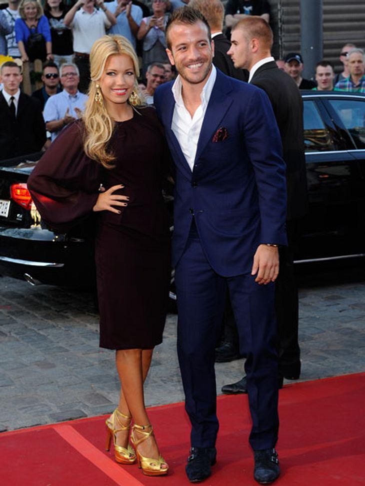 Sylvie Meis und ihr Ex-Mann Rafael van der Vaart sollen sich um Sohn Damian streiten.