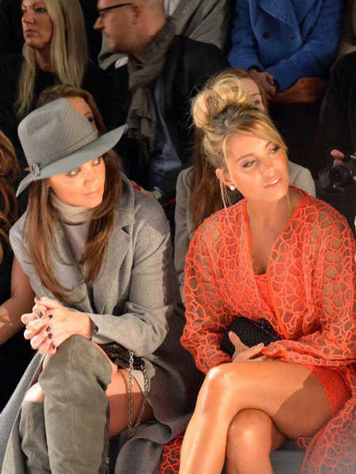 Sylvie Meis neben Katie Holmes.