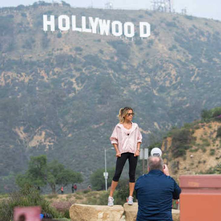 Sylvie Meis goes Hollywood