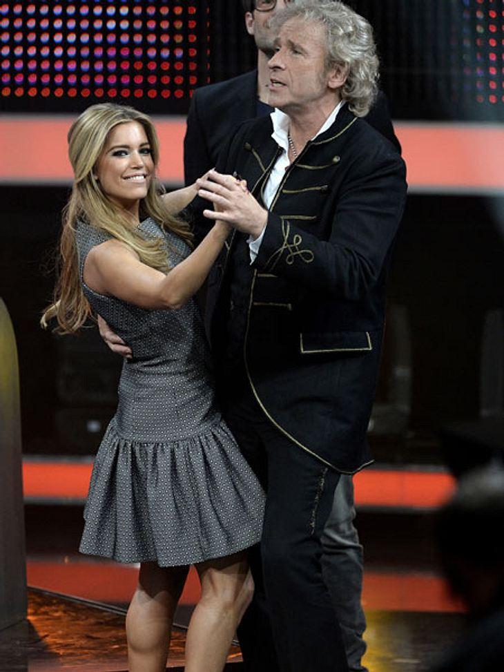 Sylvie Meis und Thomas Gottschalk wagen ein Tänzchen