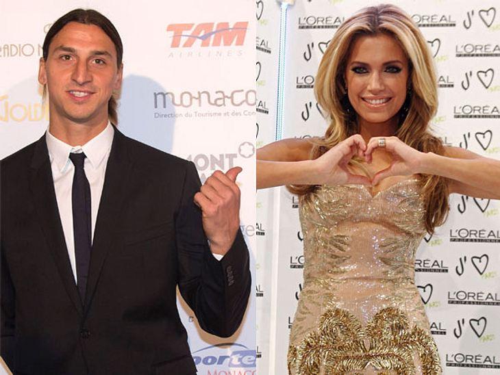 Liebt Sylvie van der Vaart Fußballer Zlatan Ibrahimovic?