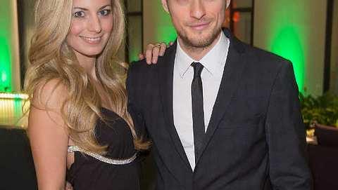 Jörn Schlönvoigt ist total stolz auf seine Freundin Syra Feiser - Foto: Getty Images