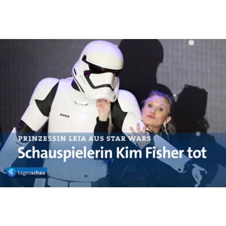 """Peinliche TV-Panne: """"Tagesschau"""" erklärt Kim Fisher für tot"""