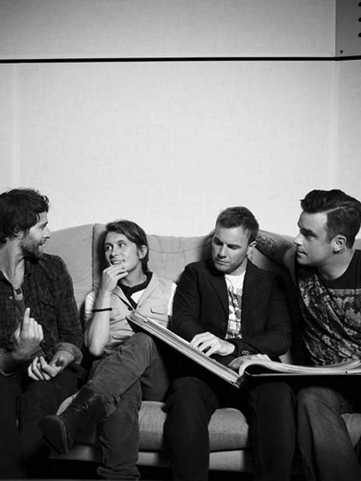 Robbie Williams: Bleibt er doch bei Take That?