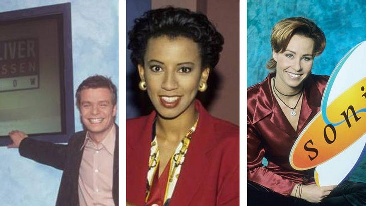 Talkshow Moderatoren der 90er heute