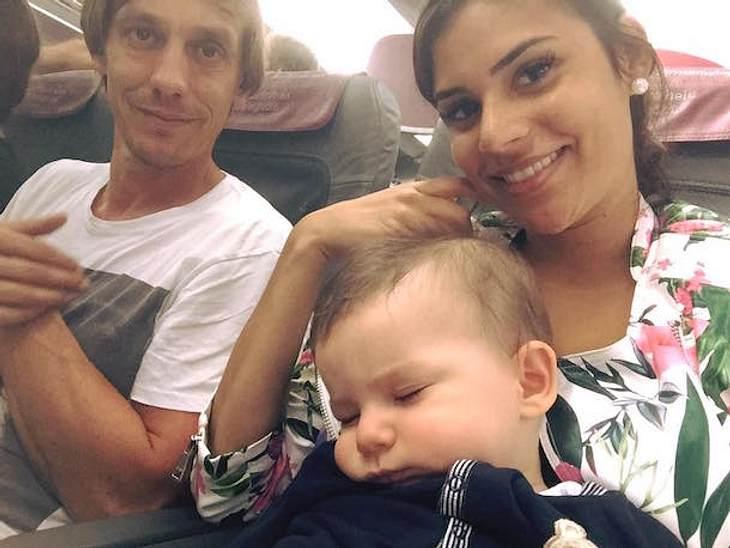 Doch keine Liebes-Krise? Tanja Tischewitsch macht Familienurlaub