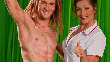 Nur eine Woche spielte Alex Klaws den neuen Tarzan, bis er sich eine Rippe brach und 3 Woche ausfiel - nun ist er wieder fit! - Foto: Stage Entertainment
