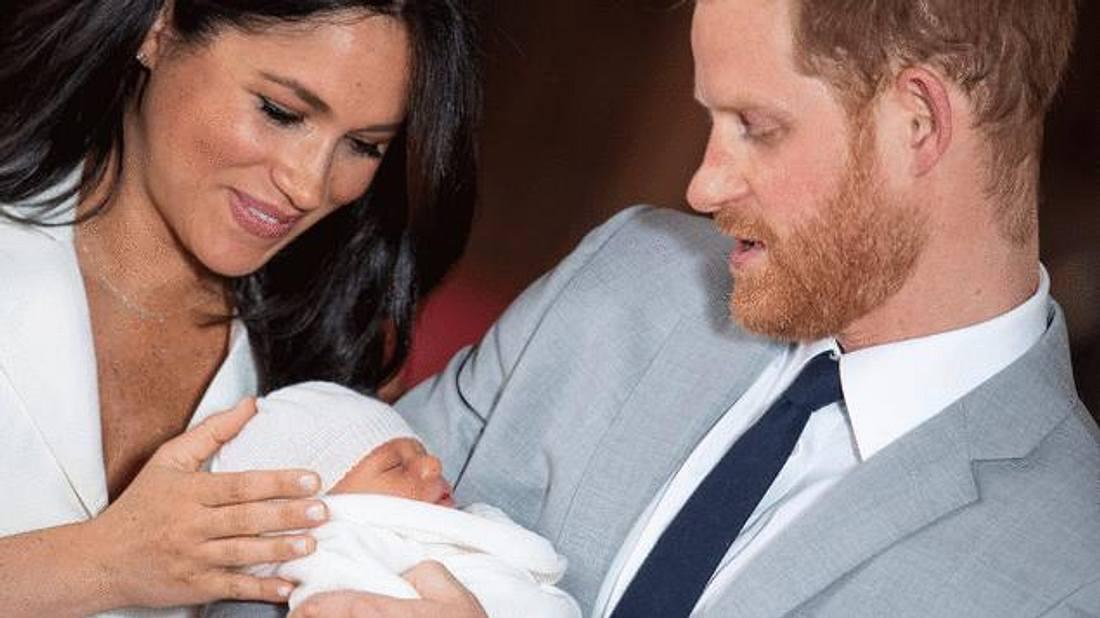 Drama um die Taufe von Baby Archie